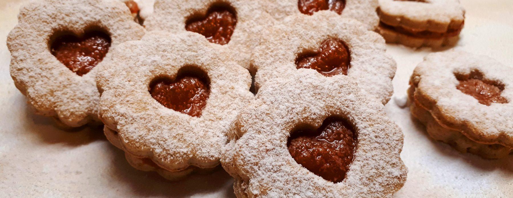 Cukormentes linzer recept diétás lekvárral