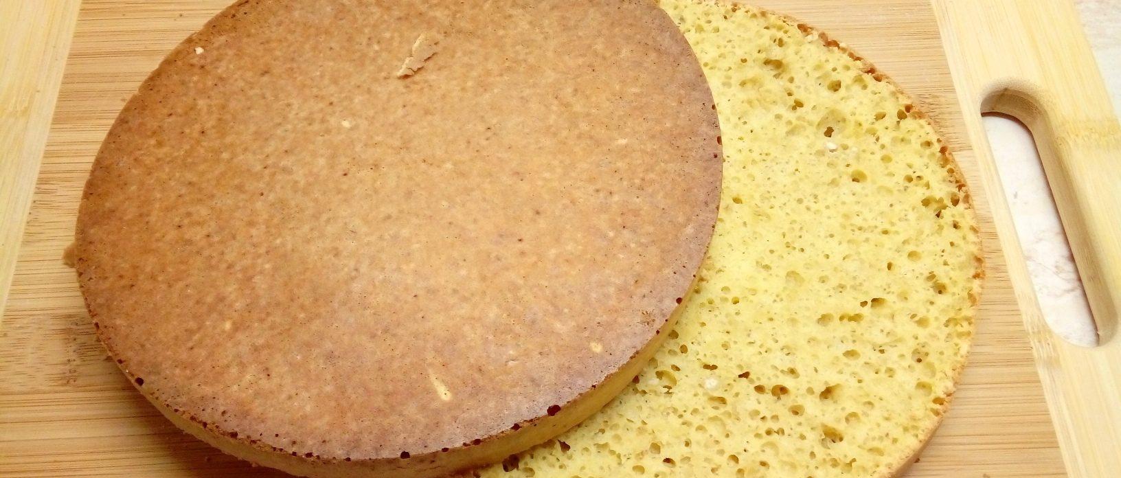 Ckormentes piskóta diétás tortákhoz süteményekhez
