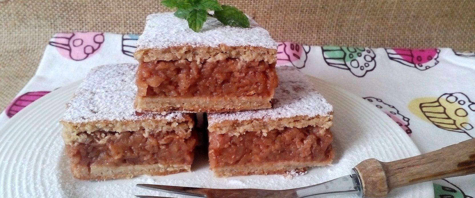 Cukormentes almás pite recept