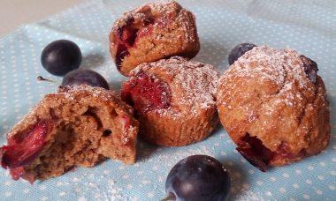 Teljes kiőrlésű cukormentes muffin recept