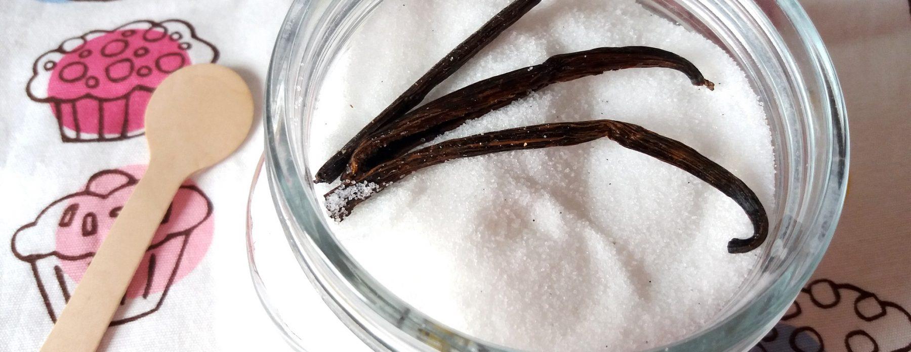 Vaníliás eritrit házilag vaníliás cukor helyett